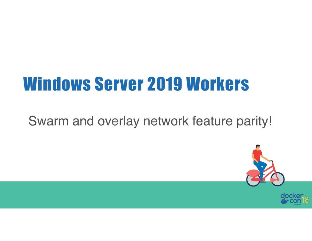 Windows Server 2019 Workers Swarm and overlay n...