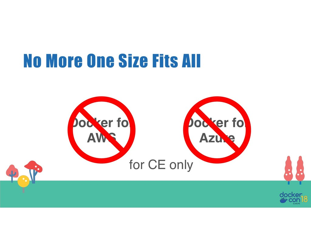 No More One Size Fits All Docker for AWS Docker...