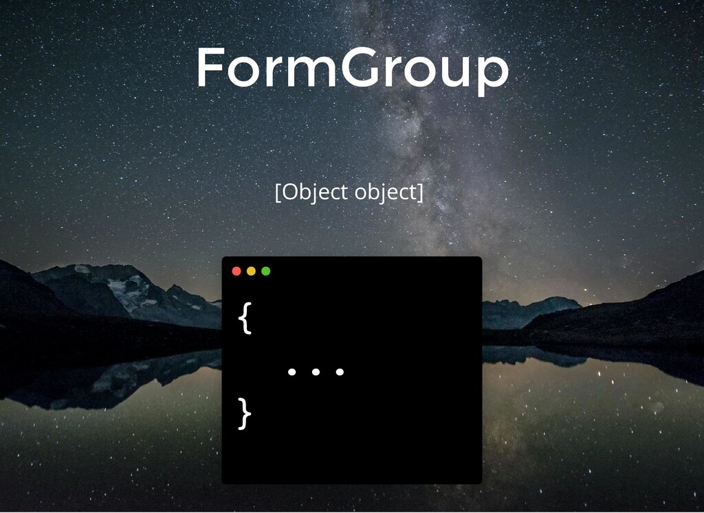FormGroup [Object object] { ... }