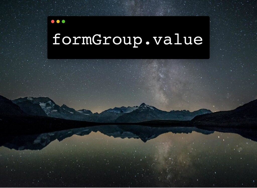 formGroup.value