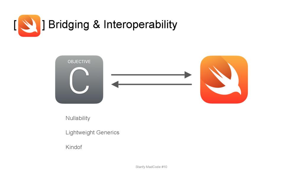 [ ] Bridging & Interoperability Nullability Lig...