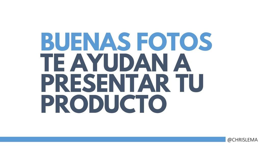 BUENAS FOTOS TE AYUDAN A PRESENTAR TU PRODUCTO ...