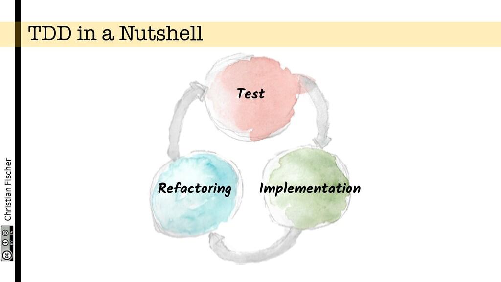 Christian Fischer TDD in a Nutshell Test Implem...