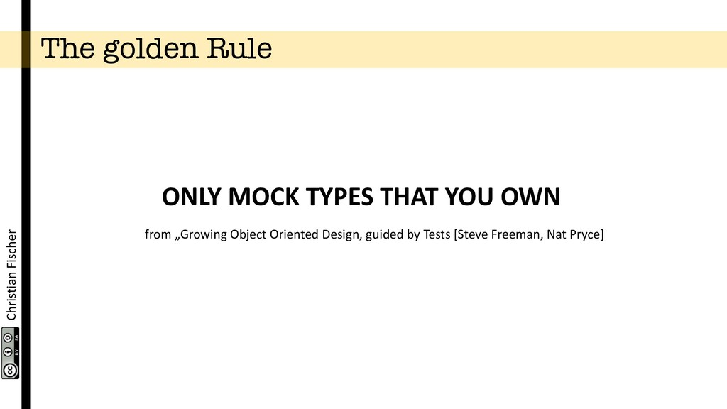 Christian Fischer The golden Rule ONLY MOCK TYP...