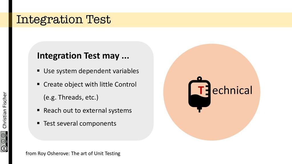 Christian Fischer Integration Test T echnical §...