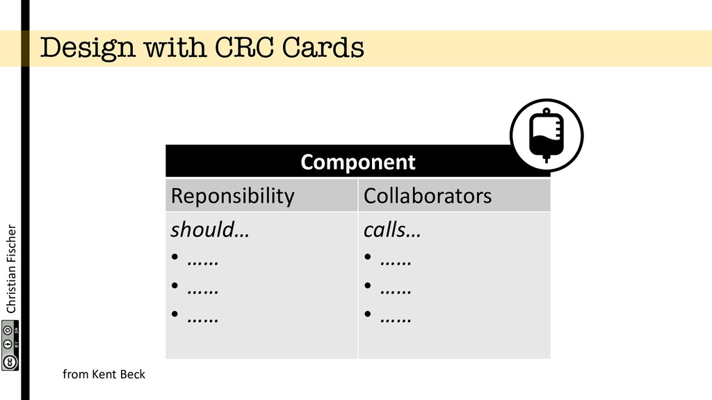 Christian Fischer Design with CRC Cards Compone...