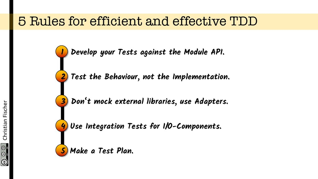 Christian Fischer 5 Rules for efficient and eff...