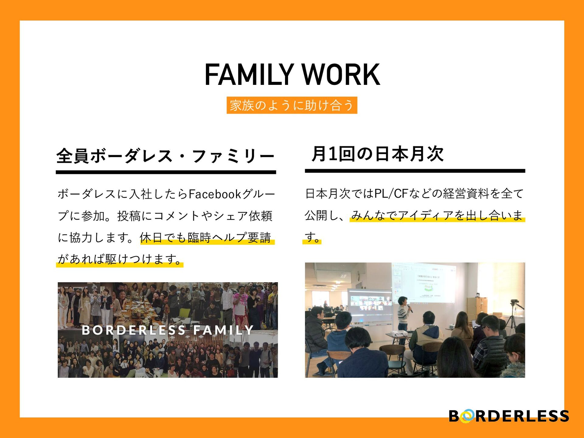 N FAMILY WORK ՈͷΑ͏ʹॿ͚߹͏ ϘʔμϨεʹೖࣾͨ͠Β'BDFCPPLάϧʔ...