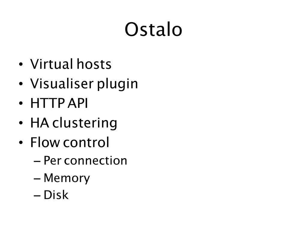 Ostalo  • Virtual hosts • Visualiser plu...