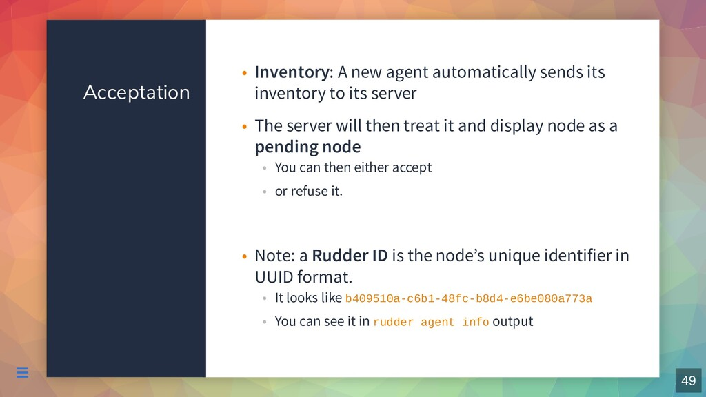 Acceptation Inventory: A new agent automaticall...
