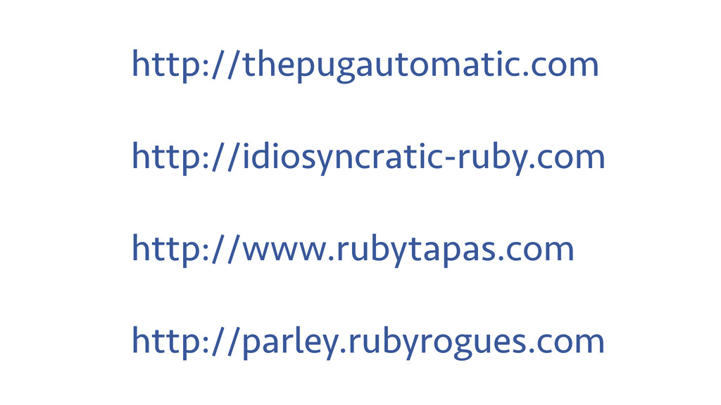 http://thepugautomatic.com http://idiosyncratic...