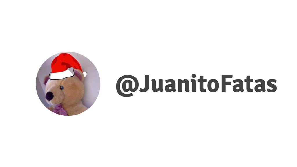 @JuanitoFatas