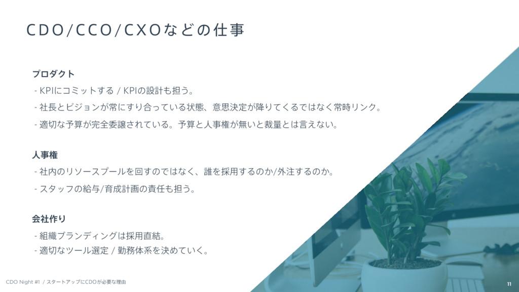 CDO Night #1 11 ϓϩμΫτ  ,1*ʹίϛοτ͢Δ ,1*ͷઃܭ୲͏ɻ...