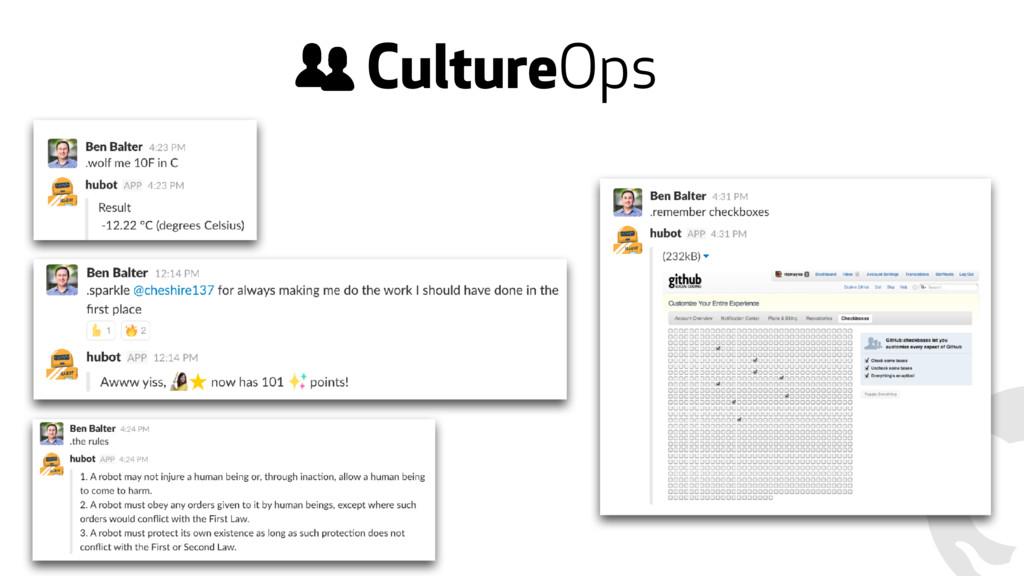 CultureOps