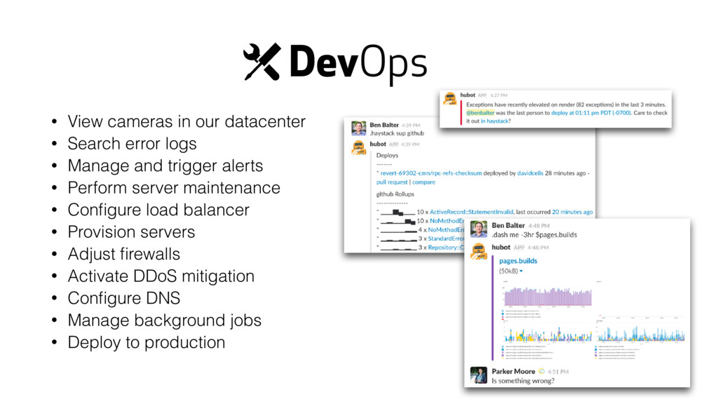 DevOps • View cameras in our datacenter • Searc...