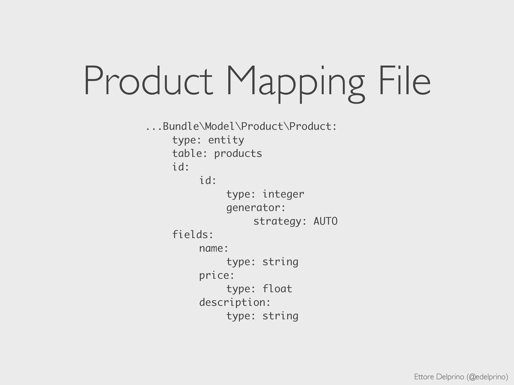 Ettore Delprino (@edelprino) Product Mapping Fi...