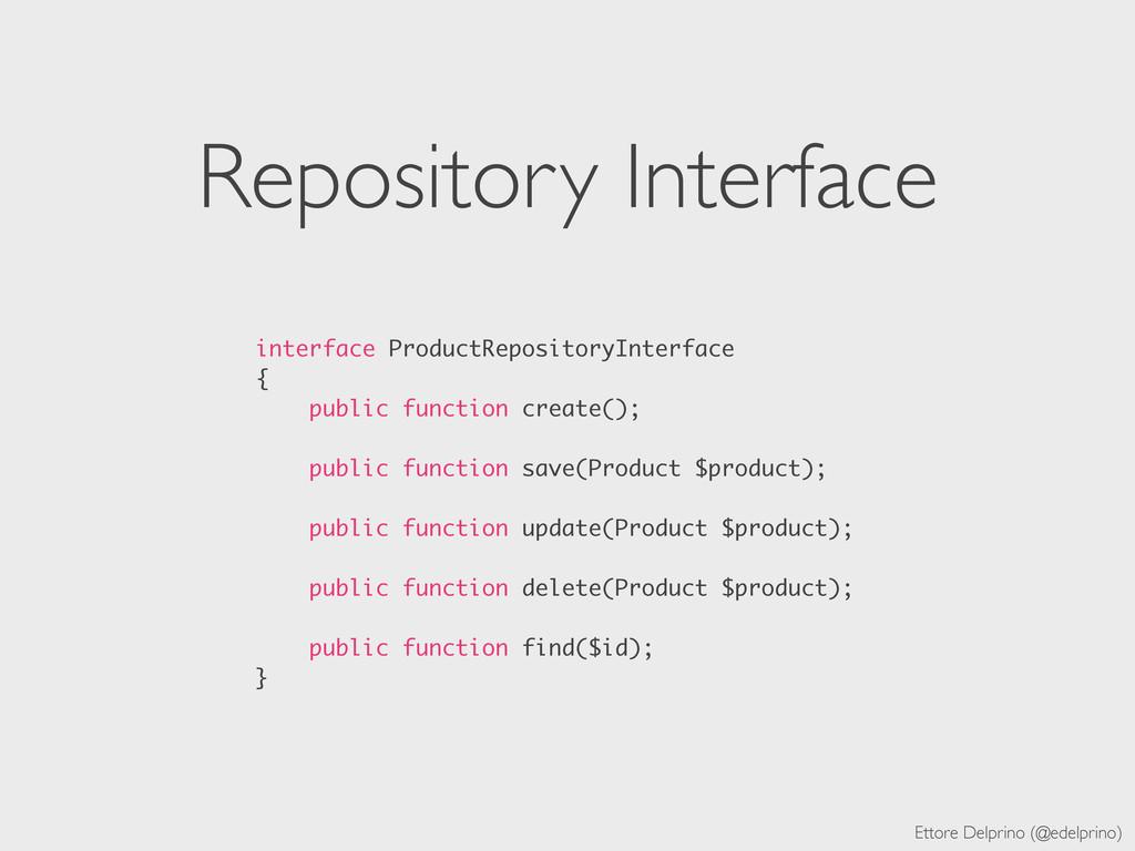 Ettore Delprino (@edelprino) Repository Interfa...