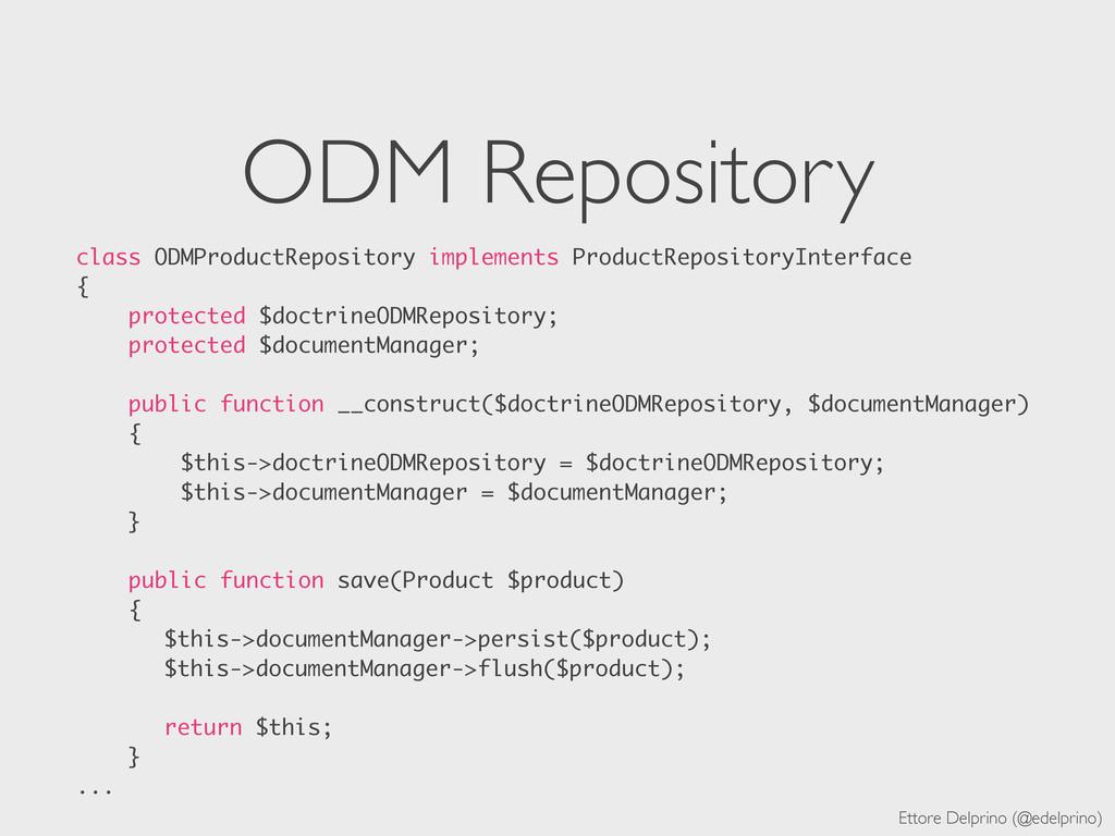 Ettore Delprino (@edelprino) ODM Repository cla...