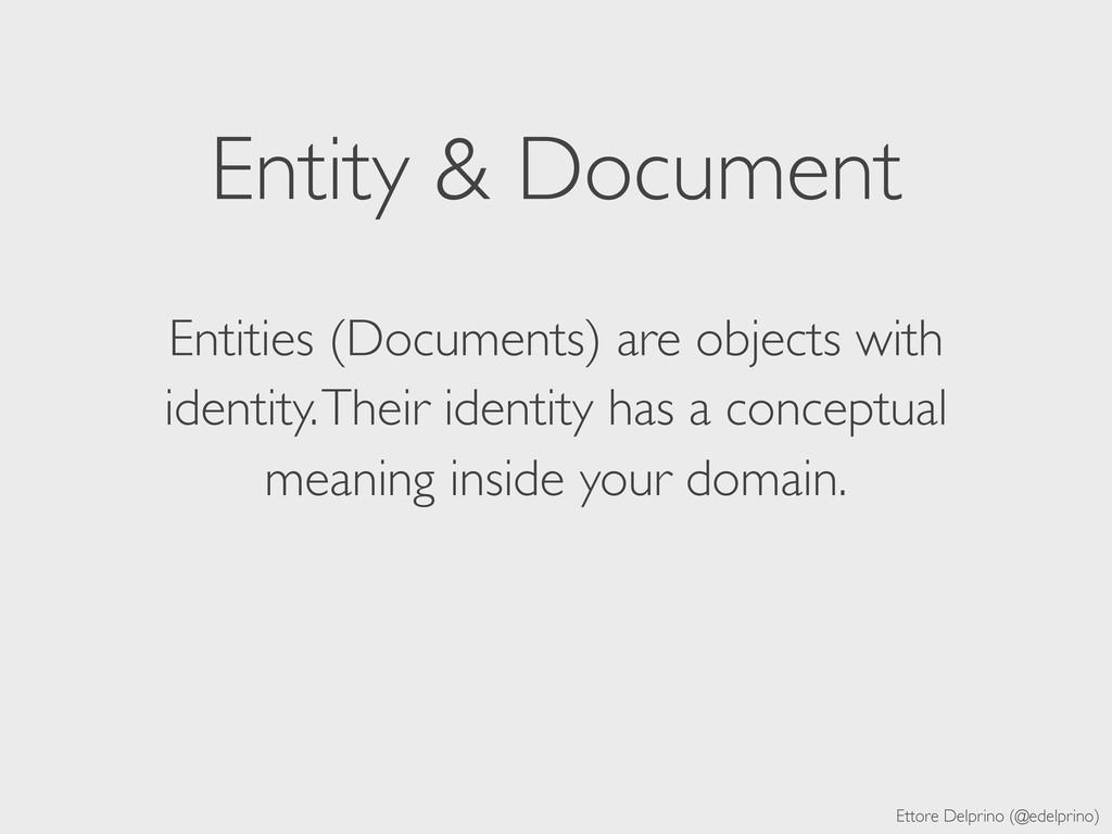 Ettore Delprino (@edelprino) Entity & Document ...