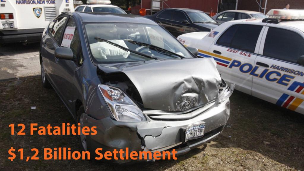 12 Fatalities $1,2 Billion Settlement