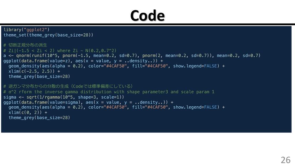 """Code 26 library(""""ggplot2"""") theme_set(theme_grey..."""