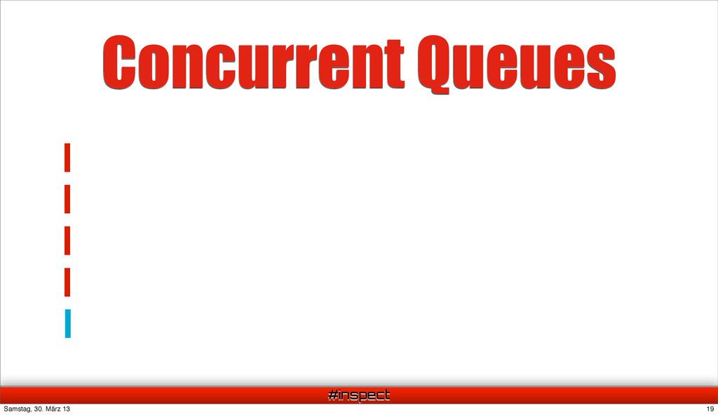 #inspect Concurrent Queues 19 Samstag, 30. März...
