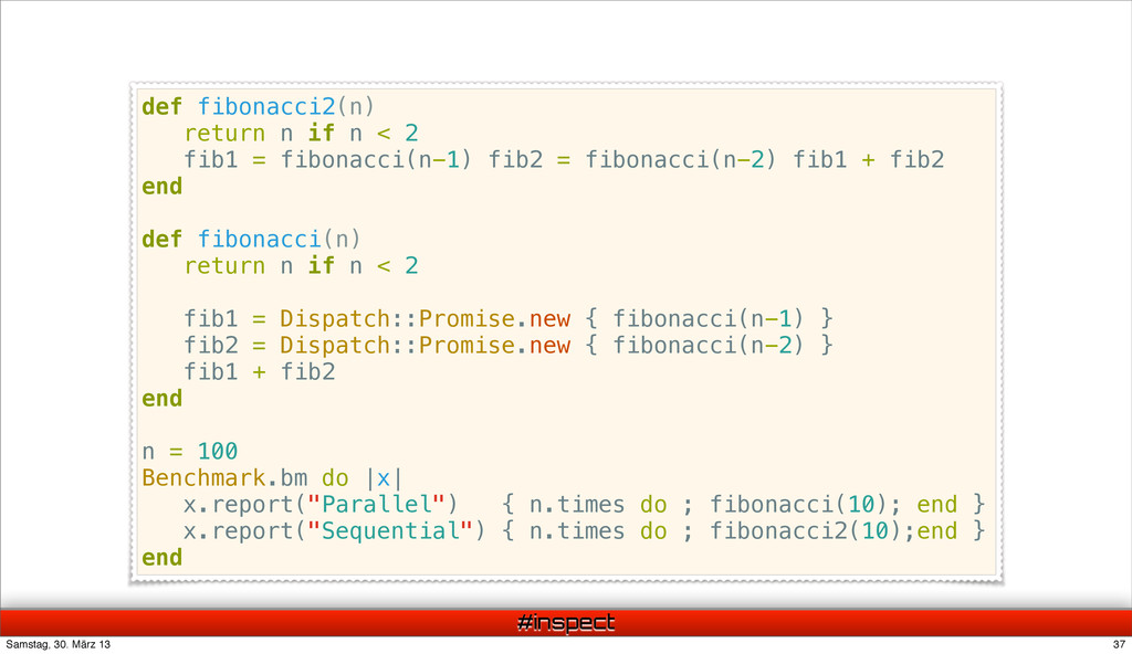 #inspect def fibonacci2(n) return n if n < 2 fi...