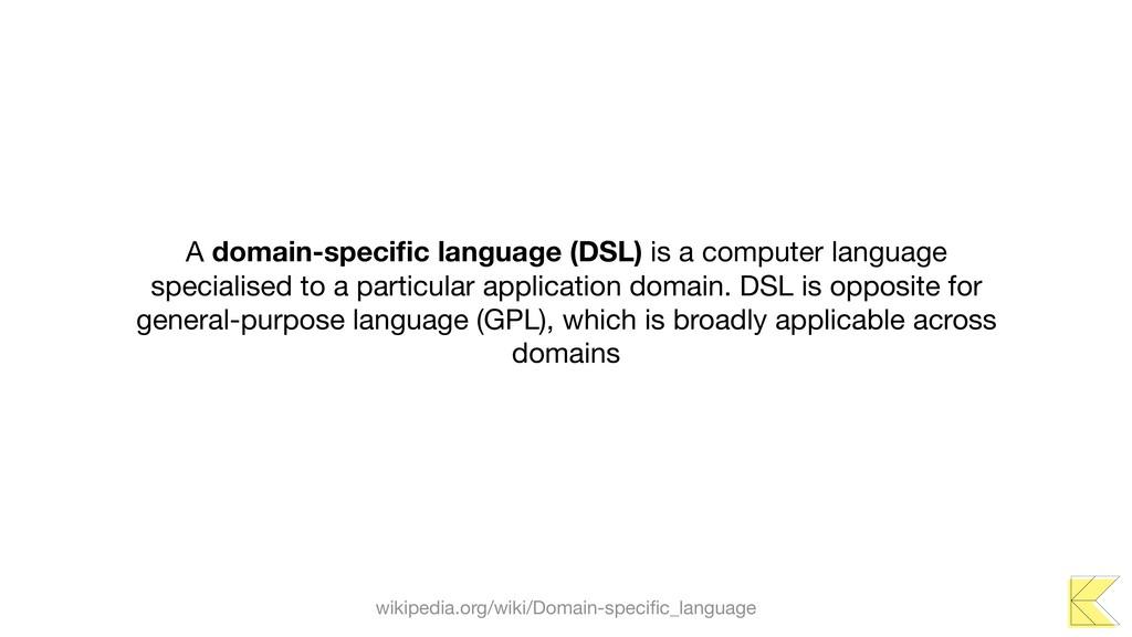 A domain-specific language (DSL) is a computer l...