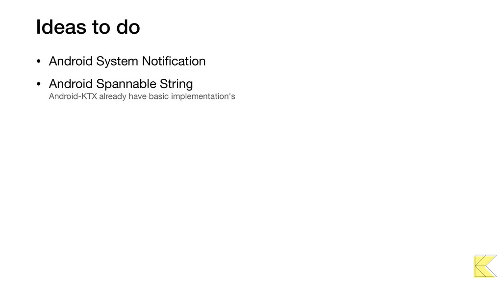 Ideas to do • Android System Notification • Andr...