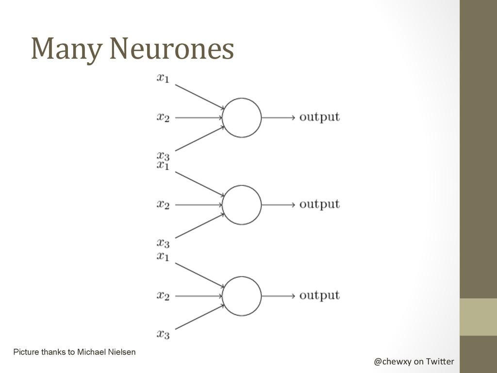 @chewxy on Twi-er  Many Neurones ...