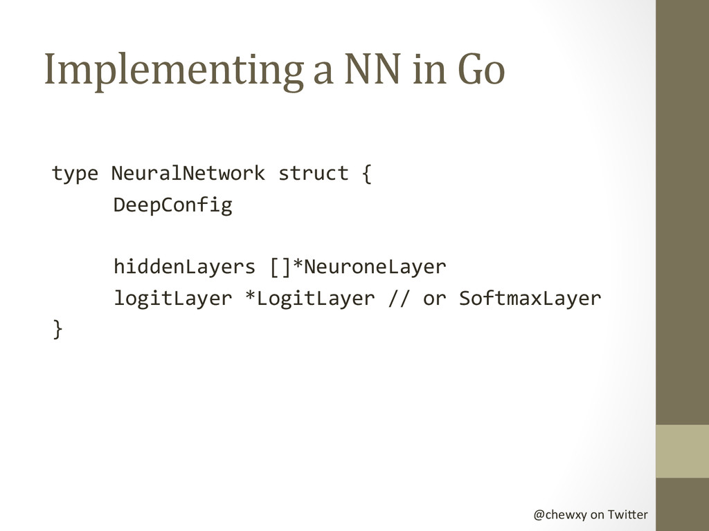 @chewxy on Twi-er  Implementing a...