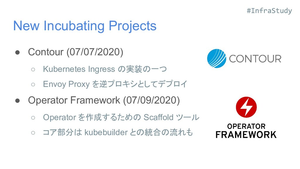 New Incubating Projects ● Contour (07/07/2020) ...
