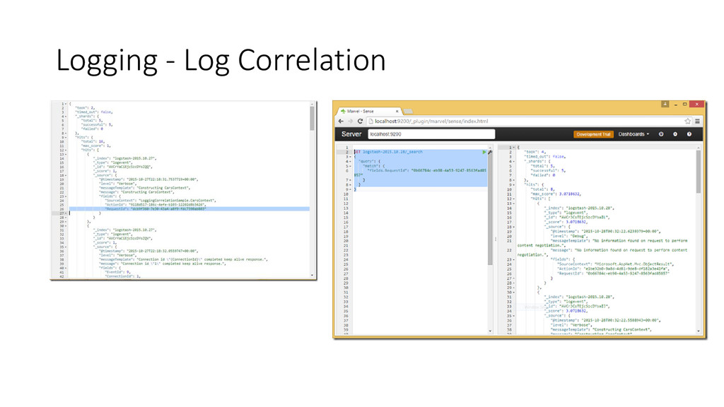 Logging - Log Correlation