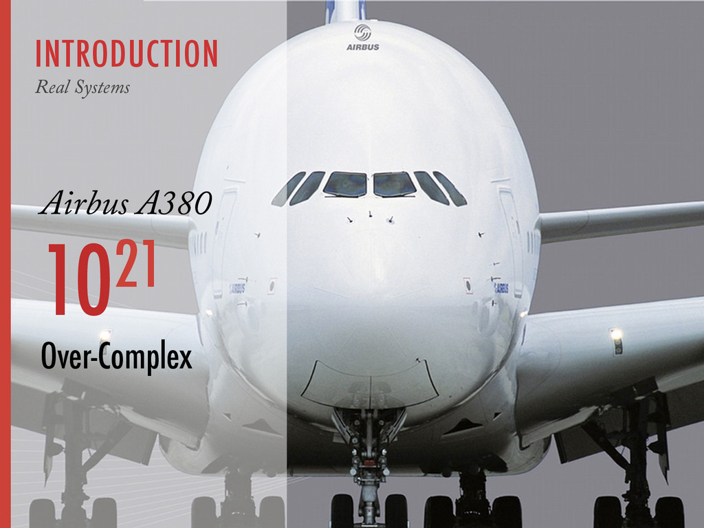 INTRODUCTION Real Systems Airbus A380 1021 Over...