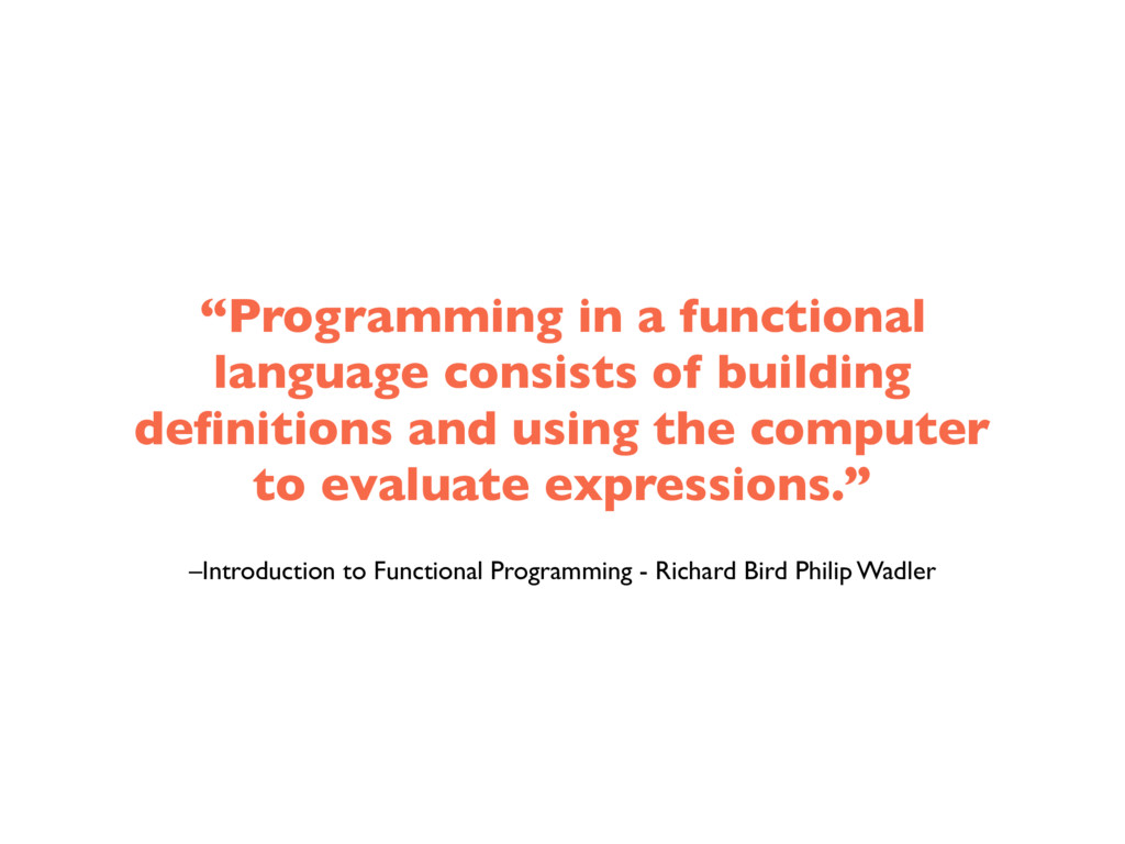 –Introduction to Functional Programming - Richa...