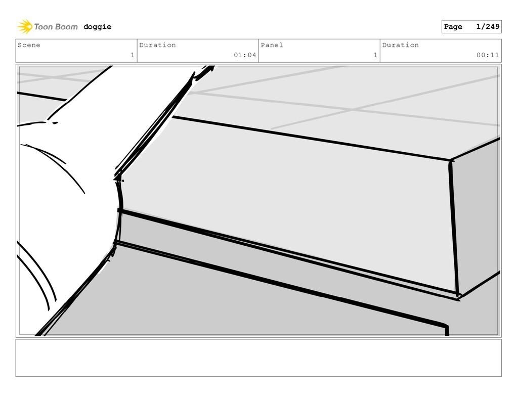 Scene 1 Duration 01:04 Panel 1 Duration 00:11 d...