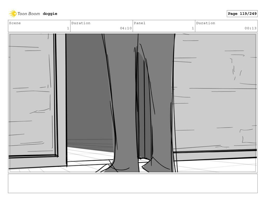 Scene 1 Duration 04:10 Panel 1 Duration 00:13 d...