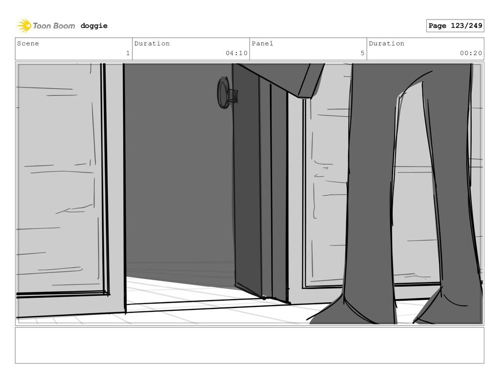 Scene 1 Duration 04:10 Panel 5 Duration 00:20 d...