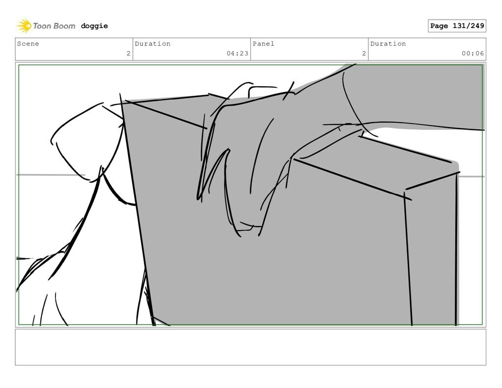 Scene 2 Duration 04:23 Panel 2 Duration 00:06 d...