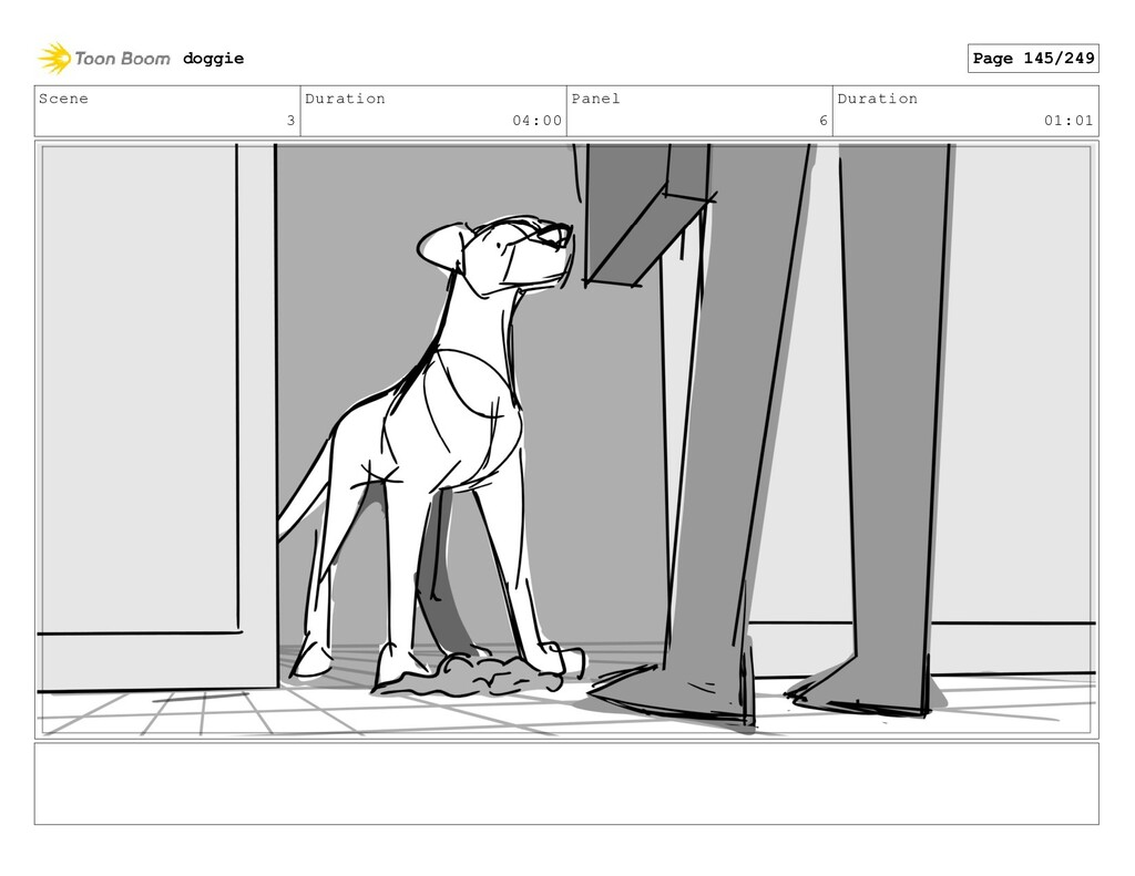 Scene 3 Duration 04:00 Panel 6 Duration 01:01 d...