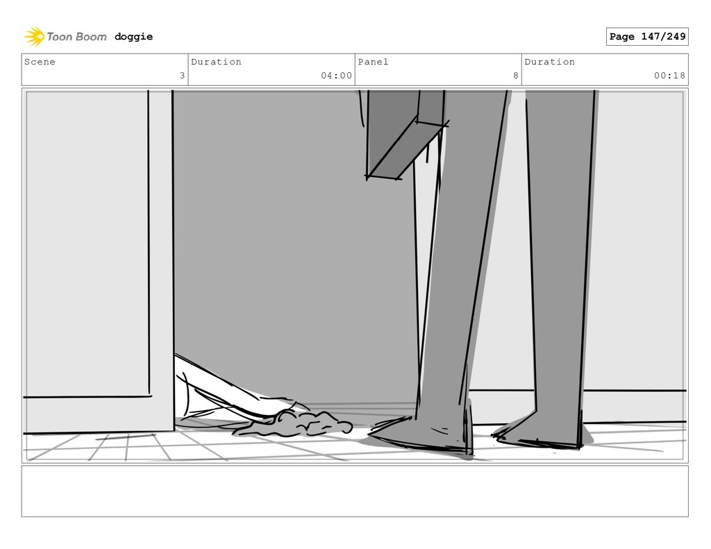 Scene 3 Duration 04:00 Panel 8 Duration 00:18 d...