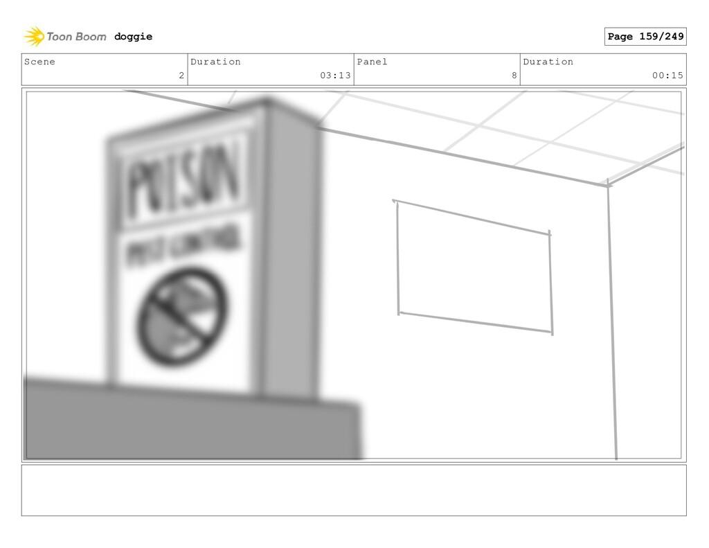 Scene 2 Duration 03:13 Panel 8 Duration 00:15 d...