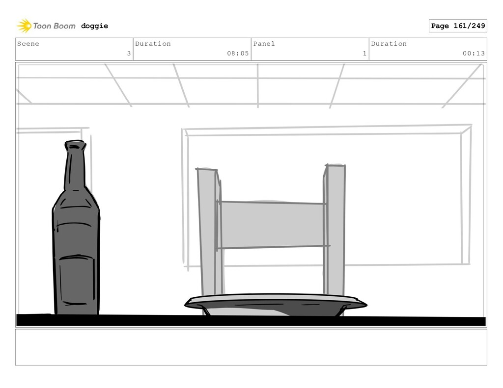 Scene 3 Duration 08:05 Panel 1 Duration 00:13 d...