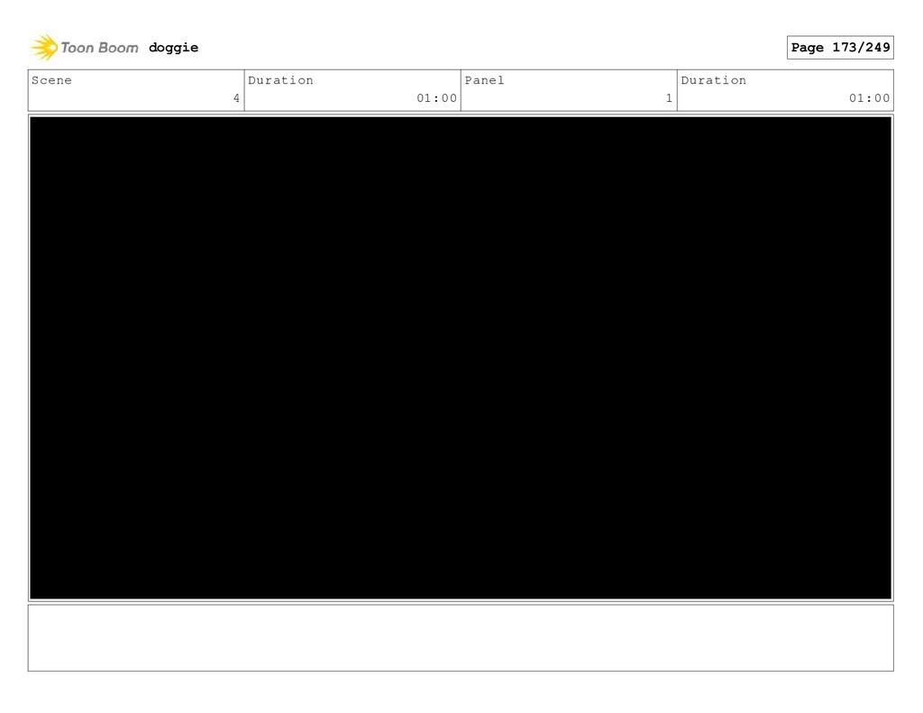 Scene 4 Duration 01:00 Panel 1 Duration 01:00 d...