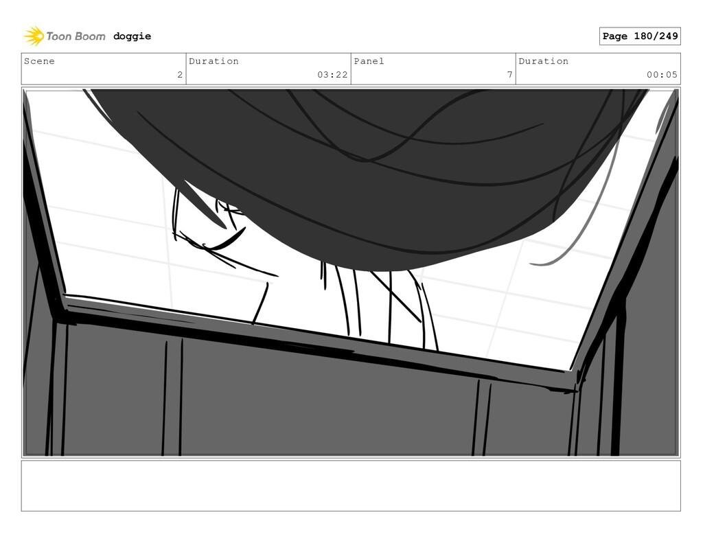 Scene 2 Duration 03:22 Panel 7 Duration 00:05 d...