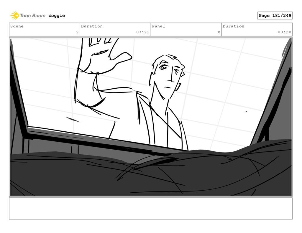 Scene 2 Duration 03:22 Panel 8 Duration 00:20 d...