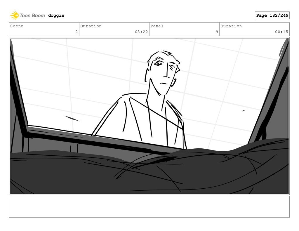 Scene 2 Duration 03:22 Panel 9 Duration 00:15 d...