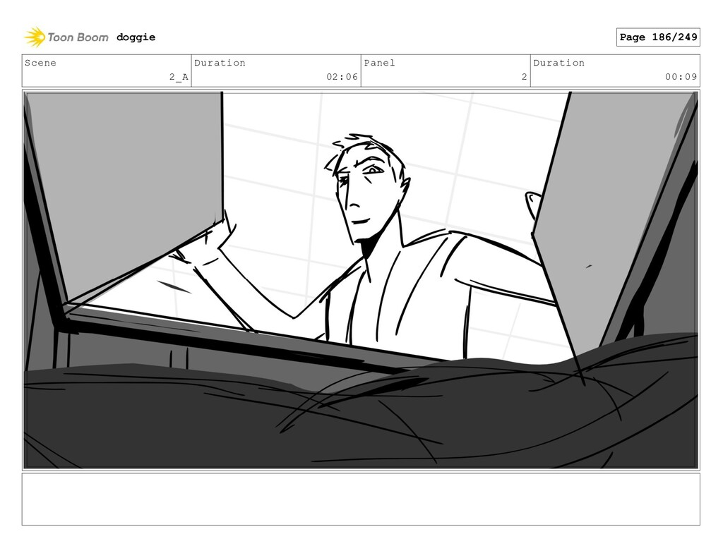 Scene 2_A Duration 02:06 Panel 2 Duration 00:09...