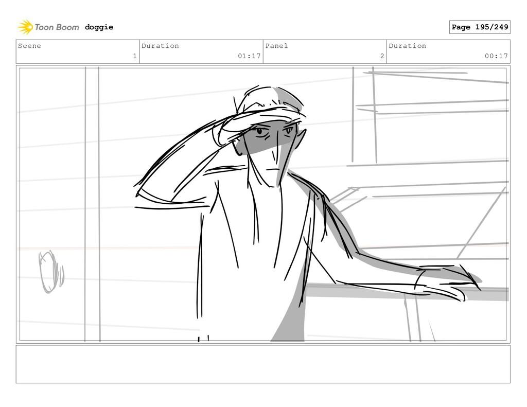 Scene 1 Duration 01:17 Panel 2 Duration 00:17 d...