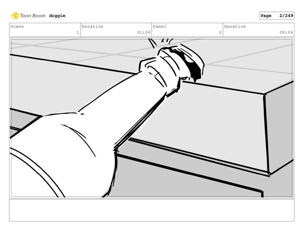 Scene 1 Duration 01:04 Panel 2 Duration 00:04 d...